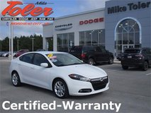 2013 Dodge Dart-Certified-Warranty-1 Owner-Clearance Priced! (Stk#p2172a) in Cherry Point, North Carolina