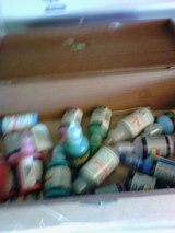 cool box of fabrick paints in Alamogordo, New Mexico