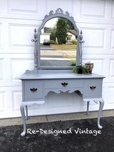 Beautiful vanity and mirror in Chicago, Illinois