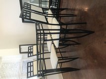 Dining table with matching chairs(4) in Leesville, Louisiana