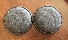 2 Carpet Base Metal Cups in Aurora, Illinois