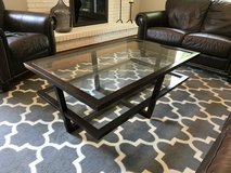 Z Gallerie Glass Coffee Table in Westmont, Illinois