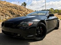 BMW 645ci Convertible Blacked Out in Fort Irwin, California