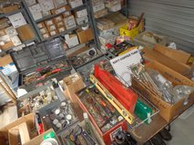 Storage Shed of Plumbing Tools & Supplies in Chicago, Illinois