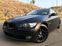 BMW 328i Murdered Out in Fort Irwin, California