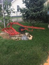 Old Farmall plow in Fort Campbell, Kentucky