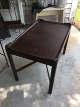 vintage table in Beaufort, South Carolina