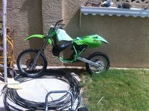 Kawasaki dirt bike (needs work) in Nellis AFB, Nevada