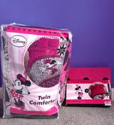 New! Minnie Mouse Diva Twin Bedding Set in Fort Campbell, Kentucky