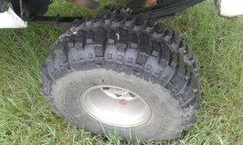 2 Super Swamped Bigger Tires for Sale in Leesville, Louisiana