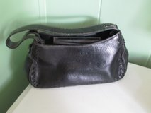 Black Leather Kenneth Cole Reaction Purse in Bolingbrook, Illinois