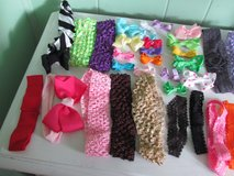 Bag of 25 Clip-On Bows & 30 Headbands in Westmont, Illinois