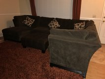Large sectional couch with ottoman in Temecula, California