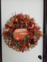 18 inch fall wreath in Fort Leonard Wood, Missouri