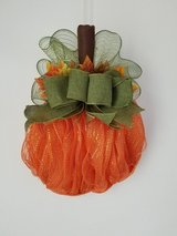 12 inch Pumpkin Wreath in Fort Leonard Wood, Missouri