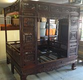 Antique Chinese Wedding Bed in Cherry Point, North Carolina