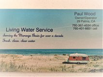 Water Service in 29 Palms and Wonder Valley in 29 Palms, California