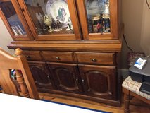 China cabinet-solid wood in Beaufort, South Carolina