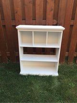 White bookshelf in Plainfield, Illinois