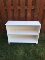White low Bookshelf in Plainfield, Illinois