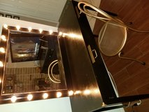 Vanity with mirror in The Woodlands, Texas