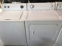 Roper washer and dryer set in Warner Robins, Georgia