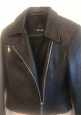 Women's size small leather jacket in 29 Palms, California