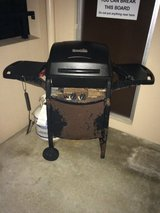 Outdoor grill- Not much to look at, but works great. Comes with propane. in Okinawa, Japan