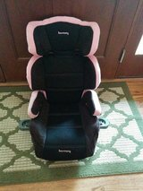 Childrens Harmony Pink/Black Booster Car Seat in Plainfield, Illinois