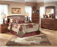 Ashley Timberline Queen Panel Bedroom Set in Watertown, New York