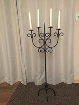wrought iron floor candelabra (large candle holder) in Tinley Park, Illinois