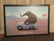 """Life's a Beach"" framed poster 26'x38' in Tinley Park, Illinois"