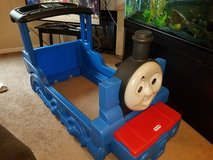 Little Tikes Thomas the Tank Engine Train toddler bed in Fort Lewis, Washington