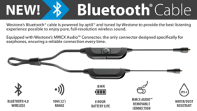 Westone MMCX Bluetooth Cable in Okinawa, Japan