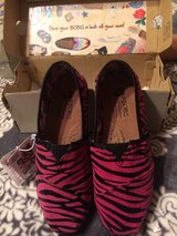 'LiL BOBS'Girls Sz.1 Pink/Black Shoes in Spring, Texas