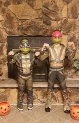 Ninja Turtle Halloween costumes in Alamogordo, New Mexico