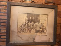 Harvard Polo Club Pic 1898 Qtr Oak Frame in Camp Lejeune, North Carolina