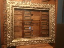 Antique Gold Gild Picture Frame w/ Wavy Glass in Cherry Point, North Carolina