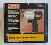 "Craftsman 1/2"" Impact Wrench (NEW) in Salina, Kansas"