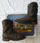 Tony Lama TLX TW902Y Work Boots Youth Big Kids size 4 w/ Box in Fort Riley, Kansas