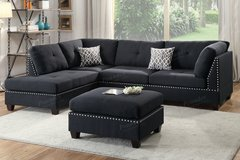 NEW SECTIONAL FREE OTTOMAN in 29 Palms, California