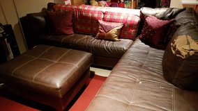 sofa sectional OTTOMAN NO LONGER AVAILABLE in Bolingbrook, Illinois