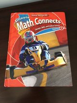 6th Grade Naperville District 203 Math Textbook (from 2016-2017 school year) in Naperville, Illinois