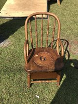 Potie chair with chamber pot in Camp Lejeune, North Carolina