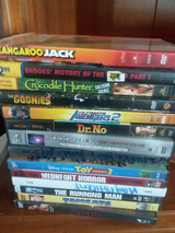 100's of name brand dvd. movies in Barstow, California