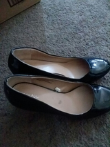 Black dress shoes in Barstow, California