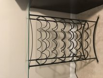 24 Wine Bottle Rack with Glass Top in St. Charles, Illinois