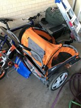 Double bike trailer and stroller in Alamogordo, New Mexico