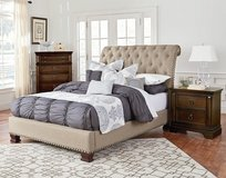 Brand New Upholstered King Bed in Warner Robins, Georgia