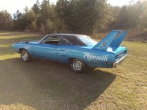 1970 Plymouth roadrunner in Mayport Naval Station, Florida